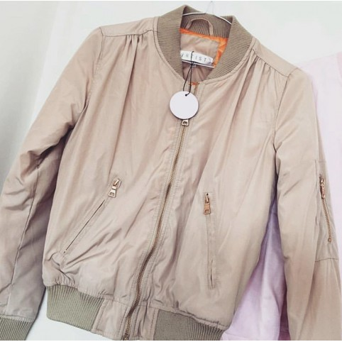 Bomber Nude 90s