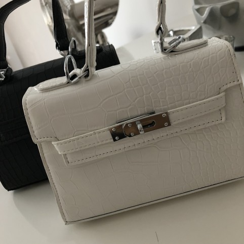 White Pint-sized bag