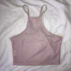 Dusty pink Heart top