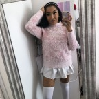 Pink Icy sweater